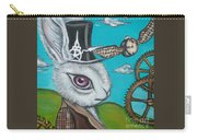 Time Flies For The White Rabbit Carry-all Pouch