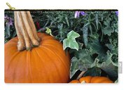 Time For Pumpkins In The Flower Beds Carry-all Pouch