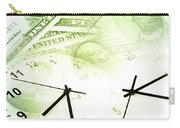 Time Is Money  Carry-all Pouch by Les Cunliffe
