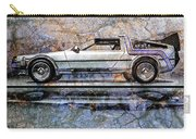 Time Machine Or The Retrofitted Delorean Dmc-12 Carry-all Pouch