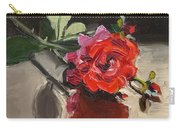 Time Of Roses Carry-all Pouch