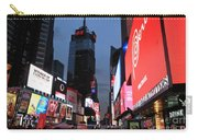 Time Square New York City Carry-all Pouch