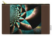 Time Travel Galaxy Portal To The Stars - Teal Green Carry-all Pouch