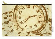 Time Worn Vintage Pocket Watch Carry-all Pouch