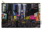Times Square From The Steps Carry-all Pouch