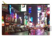 Times Square In The Rain 2 Carry-all Pouch
