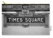 Times Square Station Tablet Carry-all Pouch