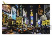 Times Square Traffic Carry-all Pouch