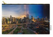 Timeslice Of Day To Night Of Kuala Lumpur City Carry-all Pouch