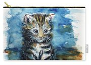Timid Kitten Carry-all Pouch