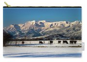 Timpanogos From The North Fields Carry-all Pouch
