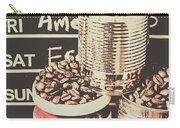 Tin Signs And Coffee Shops Carry-all Pouch