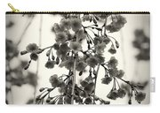 Tiny Buds And Blooms Carry-all Pouch by Angie Tirado
