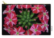 Tiny Bunch Of Red And Pink Flowers Carry-all Pouch