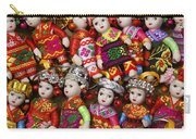Tiny Chinese Dolls Carry-all Pouch