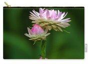 Tiny Dahlias Green Aura Carry-all Pouch