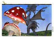 Tiny Fury Dragon Carry-all Pouch