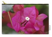 Tiny Little White Flower Carry-all Pouch