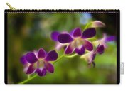 Tiny Purple Blooms Carry-all Pouch