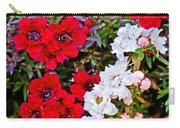 Burgundy Queen Bush At Pilgrim Place In Claremont-california Carry-all Pouch