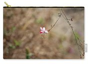 Tiny Red And White Wildflowers Carry-all Pouch