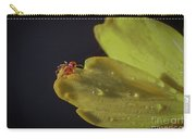 Tiny Spider On Petal Carry-all Pouch