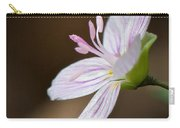 Tiny Spring Beauty Carry-all Pouch
