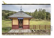 Tiny Train Station Barnet Vermont Carry-all Pouch