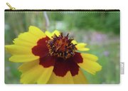 Tiny Yellow Flower Carry-all Pouch