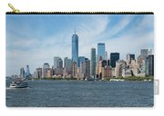 Tip Of Manhattan Wide Carry-all Pouch