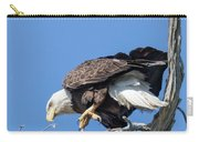 Tip Toeing Across Nest Carry-all Pouch