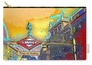Tirso De Molina Metro Entrance Madrid Carry-all Pouch
