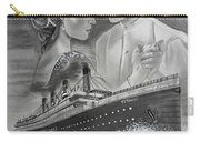 Titanic Drawing With Kate And Leonardo Carry-all Pouch