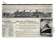 Titanic Headline, 1912 Carry-all Pouch