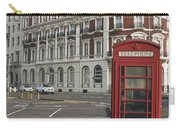 Titanic Hotel And Red Phone Box Carry-all Pouch