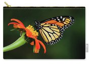 Tithonia Loving Monarch Carry-all Pouch