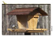 Titmouse Feeding Carry-all Pouch