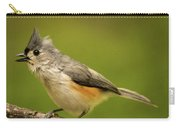 Titmouse With Bad Hairdo 2 Carry-all Pouch