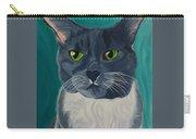 Titter, Cat Portrait Carry-all Pouch