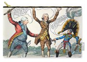 T.jefferson Cartoon, 1809 Carry-all Pouch
