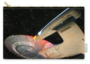 To Boldly Go Carry-all Pouch by Kristin Elmquist