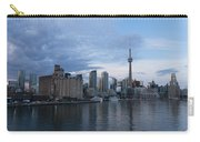 T O Harbour In Blue Carry-all Pouch