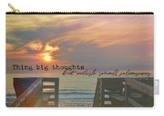 To The Beach Quote Carry-all Pouch