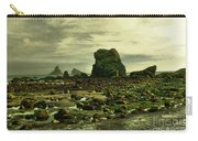 To Walk Alone Along Rocky Shores Carry-all Pouch