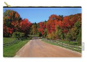 To Where Does The Road Lead Carry-all Pouch