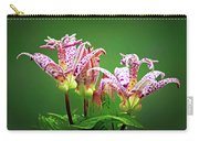 Toad Lilies Carry-all Pouch