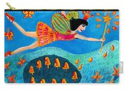 Toadstool Fairy Flies Again Carry-all Pouch