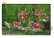 Toasted Frogs Carry-all Pouch