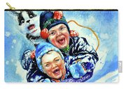Toboggan Terrors Carry-all Pouch