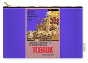 Tobruk Theatrical Poster 1967 Color Added 2016 Carry-all Pouch
